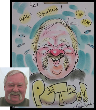 Cleveland Party Caricatures
