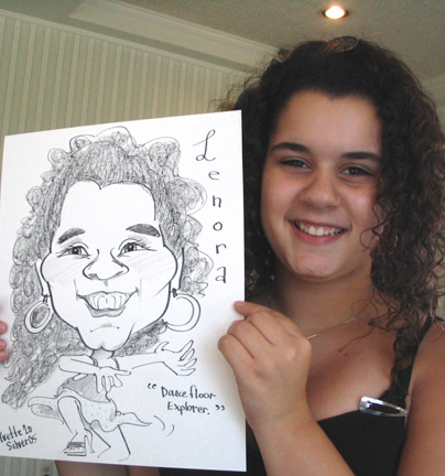 New York City - Manhattan Party Caricature Artist